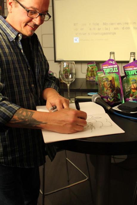Kevin Eastman creador de las Tortugas Ninjas