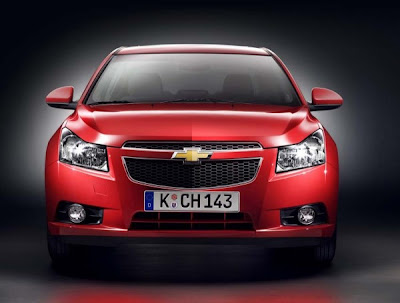 2011-Chevrolet-Cruze-Front-View-Red-Color