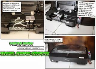 Cara Memasang Infus Printer Canon