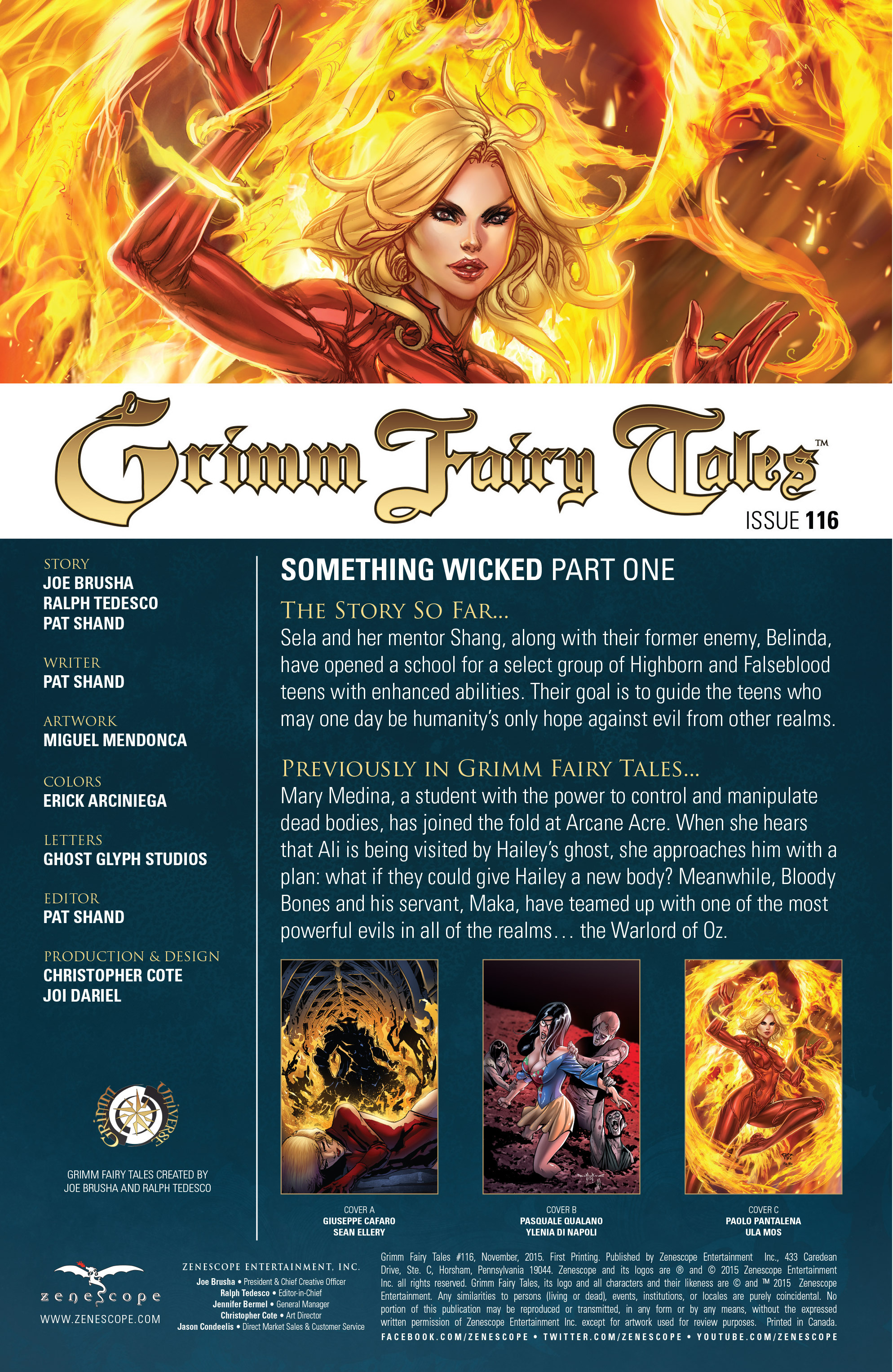 Grimm Fairy Tales (2005) Issue #116 #119 - English 2