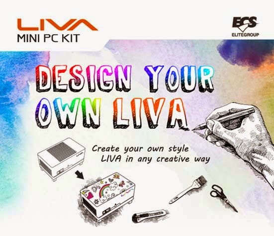 ECS LIVA Mini PC Kit