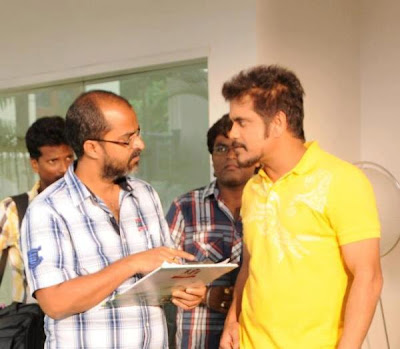 Nagarjuna's Love Story Moive Working Still