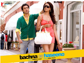 Hindi Movie - Bachna Ae Haseeno (released in 2008) - Starring Ranbir Kapoor, Deepika Padukone, and Bipasha Basu