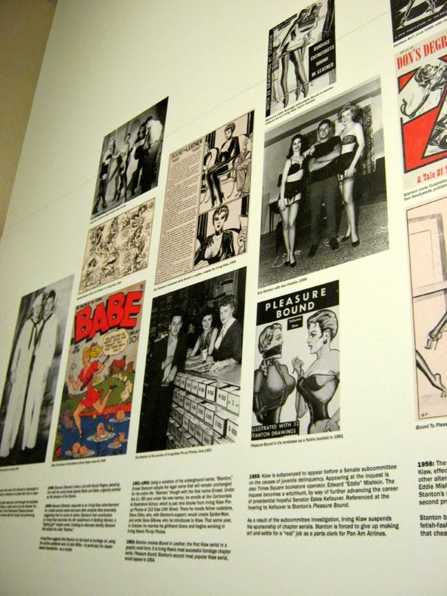 Eric Stanton Timeline By Richard Perez at the Taschen Gallery