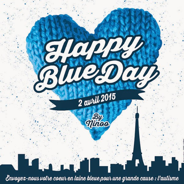 Love is the message - Happy Blue Day 2015 avec Ninoo
