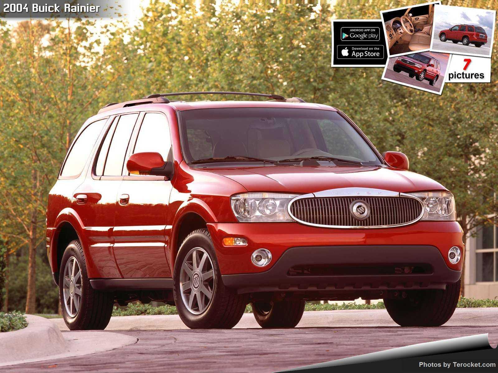 Hình ảnh xe ô tô Buick Rainier 2004 & nội ngoại thất