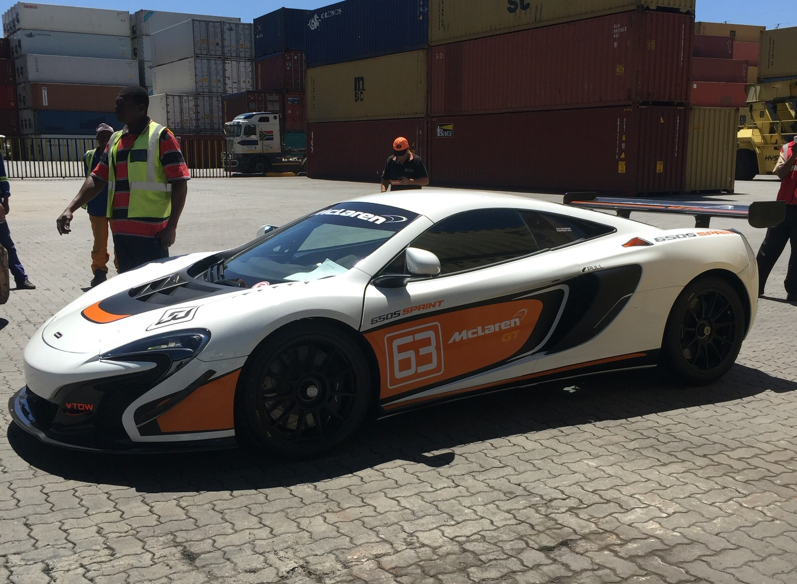 Track-Only McLaren 650S Sprint Arrives In South Africa