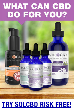 SOL/CBD - MY NUMBER 1 CHOICE FOR CBD