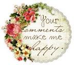 Tusen takk for alle hyggelige kommentarer.