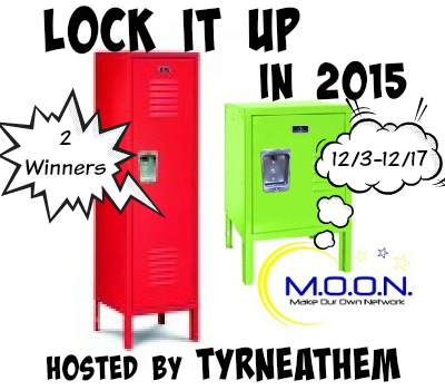 Enter the Lock it Up in 2015 Giveaway. Ends 12/17