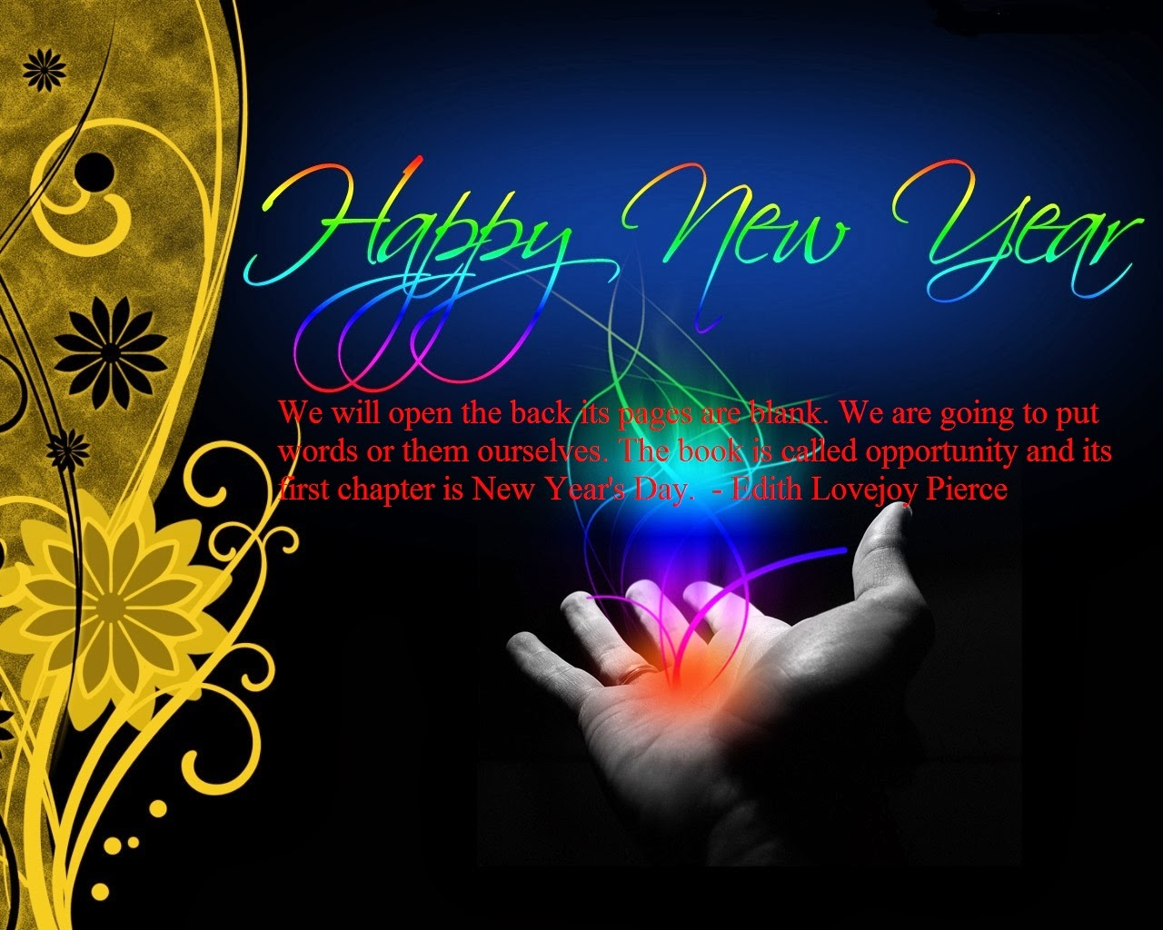 Beautiful Happy New Year Images With Quotes