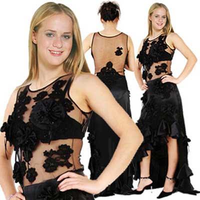hideous prom dress