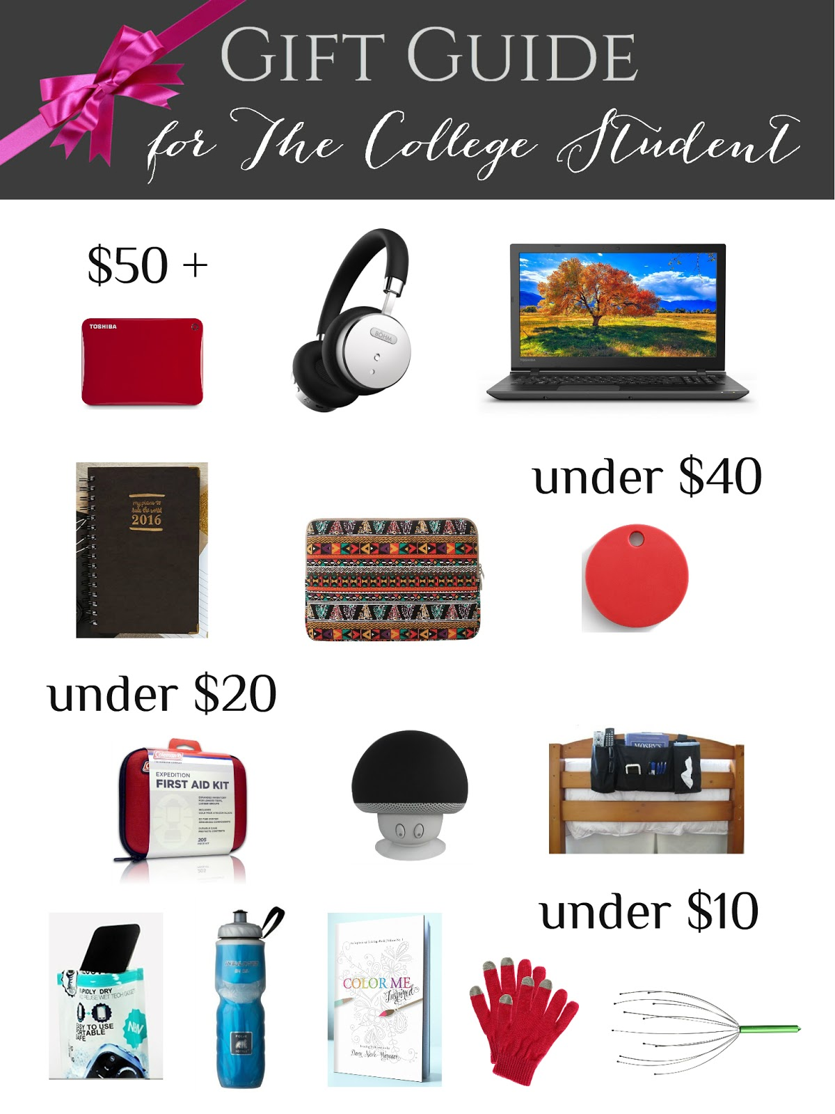College student gift guide crafting in the rain college student gift guide negle Images