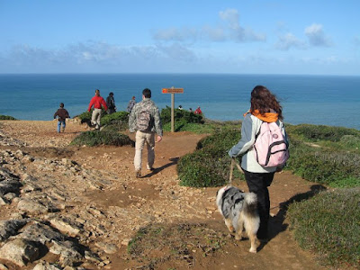 Dog Trekking to Cabo Espichel