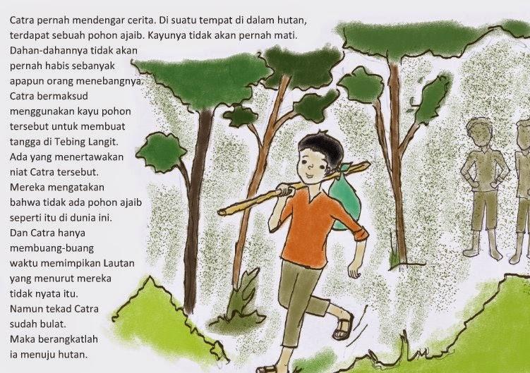 pictorial-story-hutan-rumput-kartun