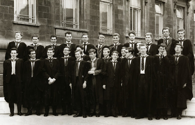 Leeds University Metallurgy Graduation 1966