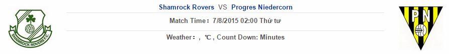 Shamrock Rovers vs Progres Niedercorn link vào 12bet