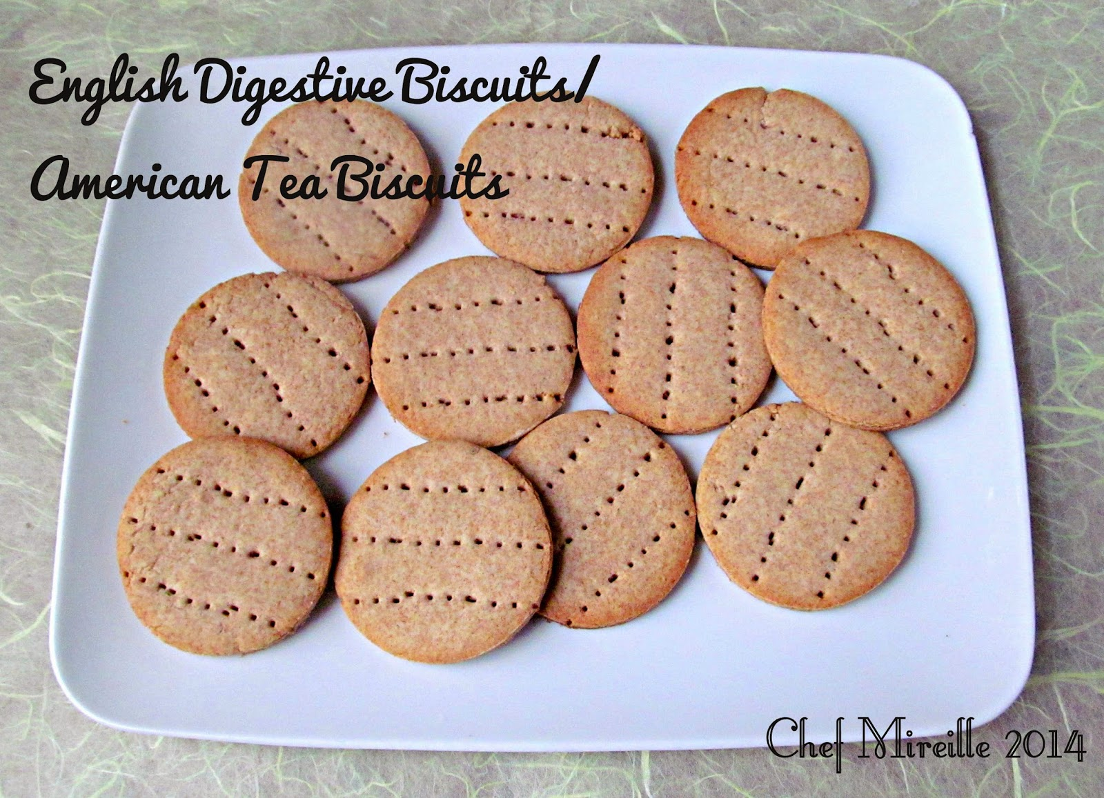 american tea biscuits...english digestive biscuits