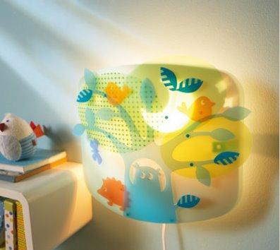 Hermosas y decorativas l mparas para cuarto de ni os - Lamparas para ninos ...