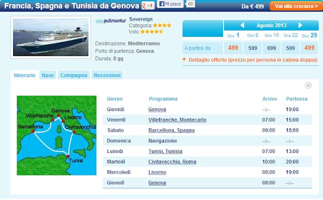 Crociere Barcellona, Baleari e Costa Azzurra! Offerte Mediterraneo Occidentale