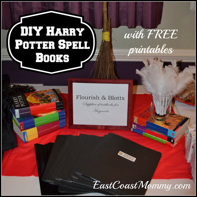 Harry Potter Book Free : East coast mommy harry potter spell books and quills