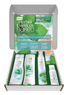 #Herbal Essences Naked Collection Volume Kit Exclusively @Walmart.com Introduction