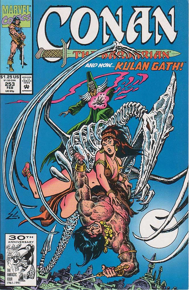 Conan the Barbarian (1970) Issue #253 #265 - English 1