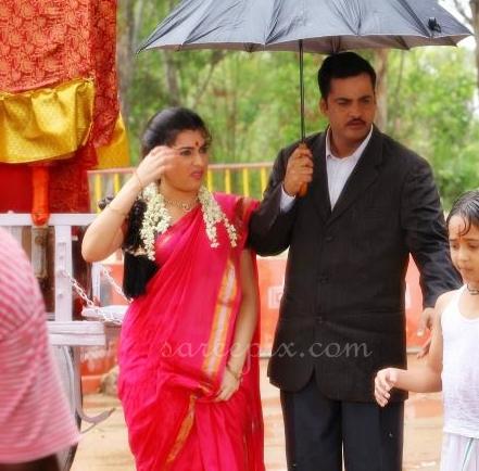 "veda in red wet saree from ""Kamala tho naa prayanam"" telugu movie ..."
