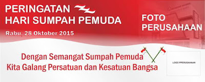 Download Spanduk Hari Sumpah Pemuda 2015