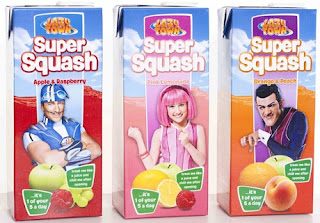 Lazy Town Fit Fruits Super Squash