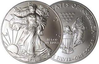 2011SilverEagleBU Tutte le Silver Eagle coniate dal 1986 valgono come quanto ha perso FB da venerdì scorso