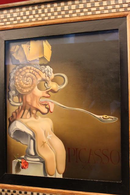 Obras de Salvador Dalí en el museo de Figueras