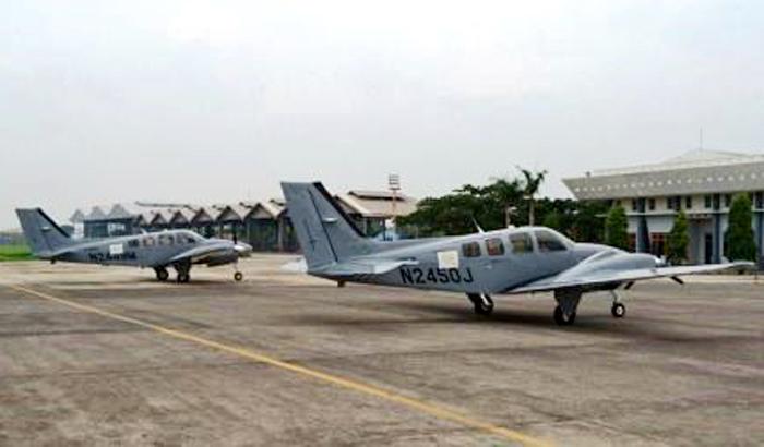 Pesawat Latih Beechcraft Baron G-58