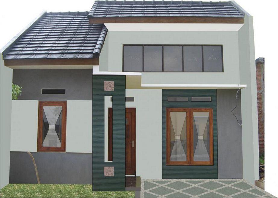 gambar denah rumah type 36 2 kamar terbaru