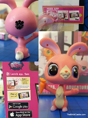 Littlest Pet Shop Bunny Ross toy pink rabbit