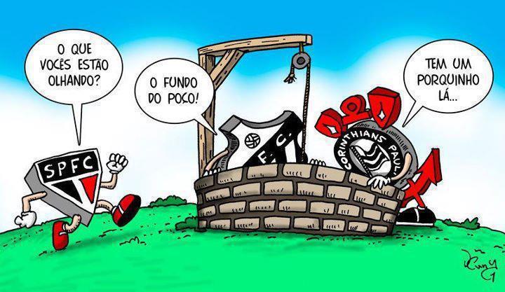 Palmeiras no fundo do Poço