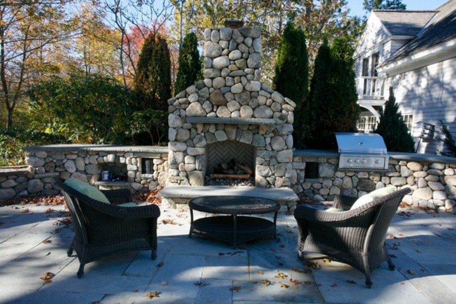 Outdoor Fireplace cost of outdoor fireplace : Outdoor Fireplace Kits for the DIYer - Shine Your Light
