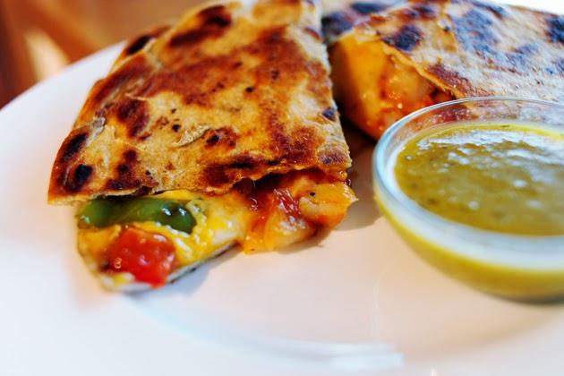 Gina's Italian Kitchen: Quesadillas de Camarones (Shrimp Quesadillas)
