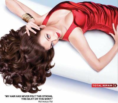 Aishwarya Rai New L'Oreal Paris Print Ad Hot Photoshoot