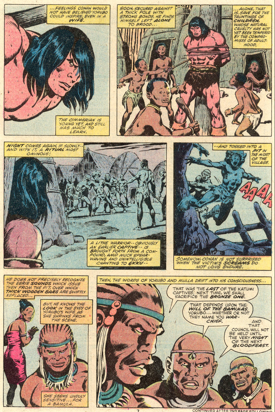Conan the Barbarian (1970) Issue #101 #113 - English 7