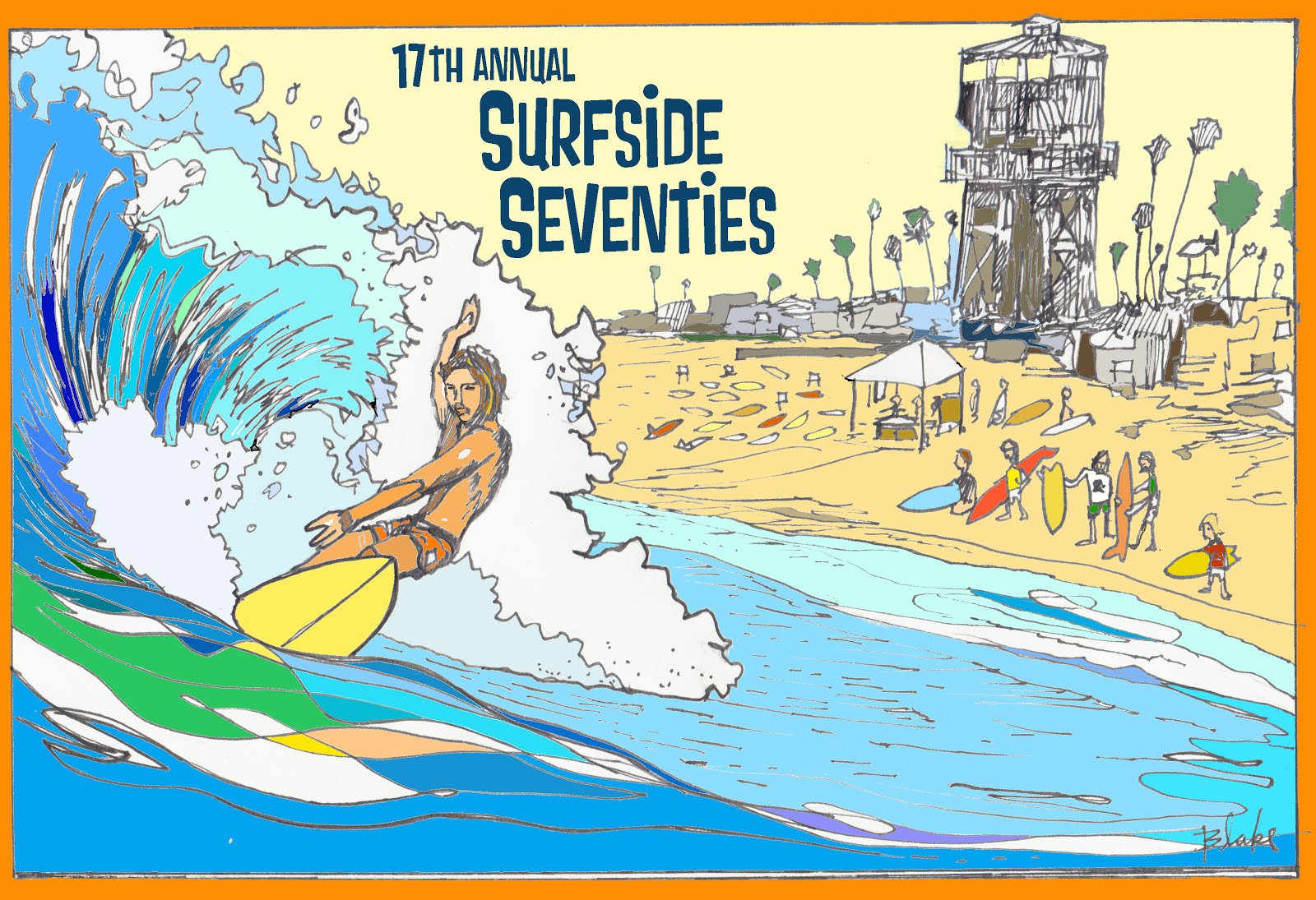 2015 17th annual Surfside Seventies