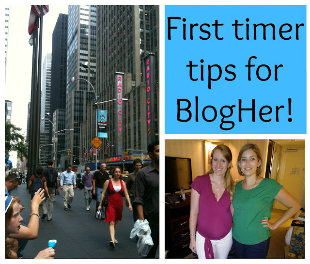 BlogHer12 tips, BlogHer tips, newbie tips BlogHer