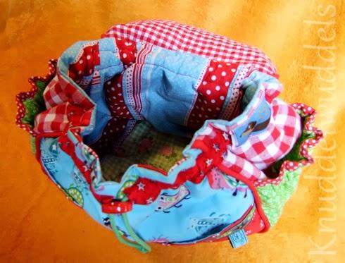 Schnitt: Schönes von Emilu, Rainbowbag