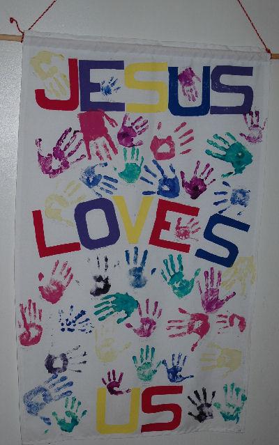 Manualidades para la escuela dominical jesus for Decoracion escuela