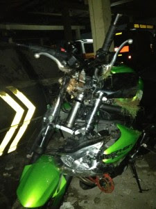 Foto Ustadz Jefry (UJE) Kecelakaan Hingga Meninggal
