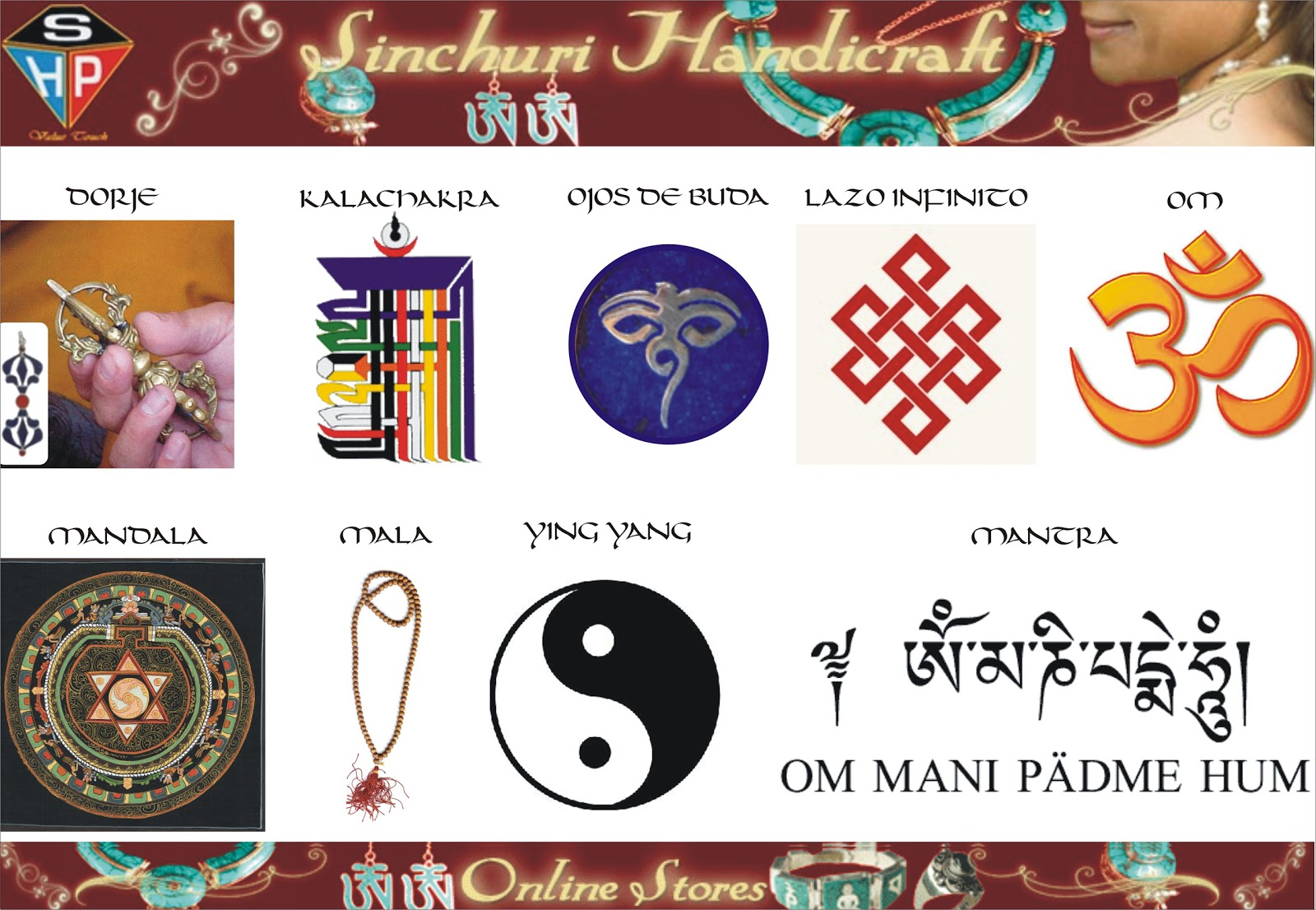 Tibet nepal india cordoba 957 07 25 04 - Simbolos y su significado ...