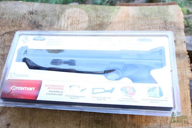 Crosman 1322 Air Pistol - In Package 2