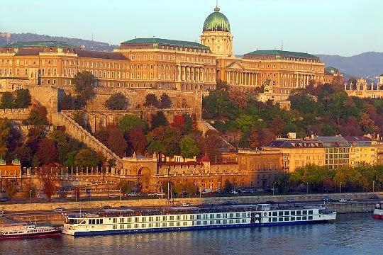 Buda slottet i Budapest, Ungarn