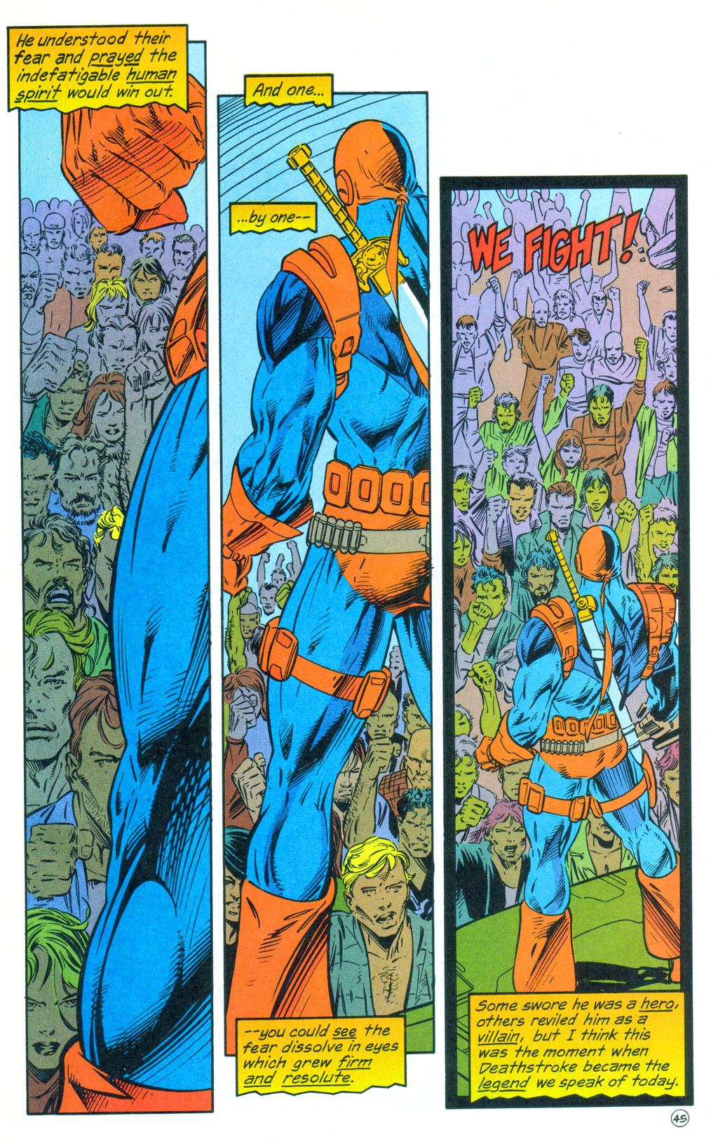 Deathstroke (1991) Annual 3 #3 - English 46