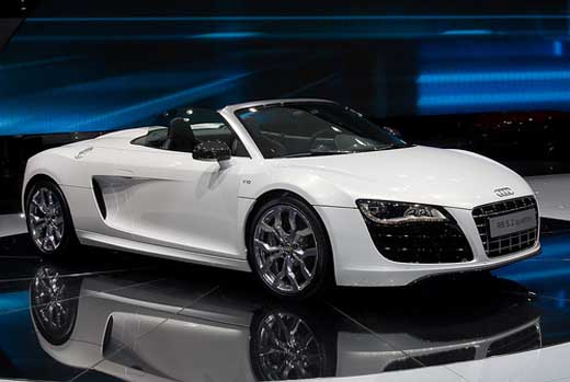 Audi Sports Car  Laura Williams